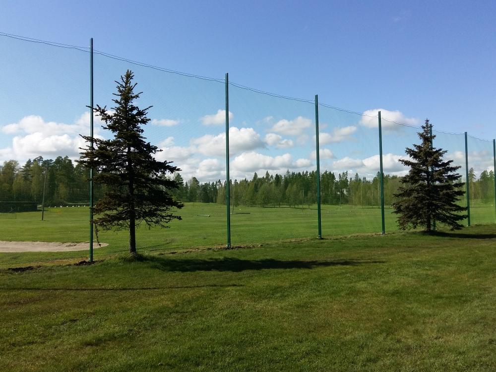 Golfkenttien suojaverkot
